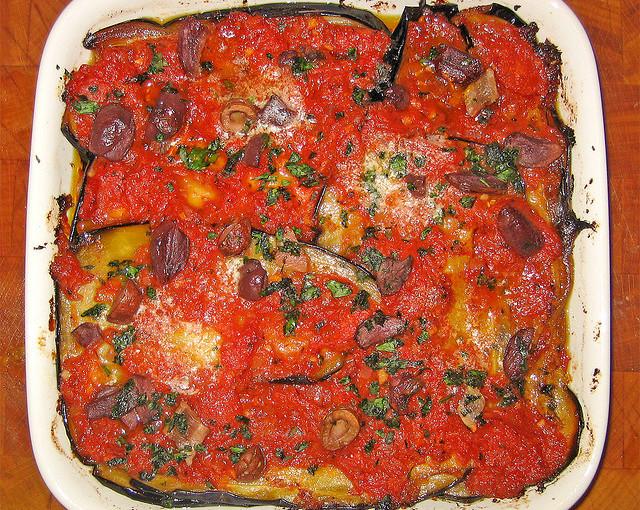 Dania kuchni włoskiej i krajowe mięso sezonowane