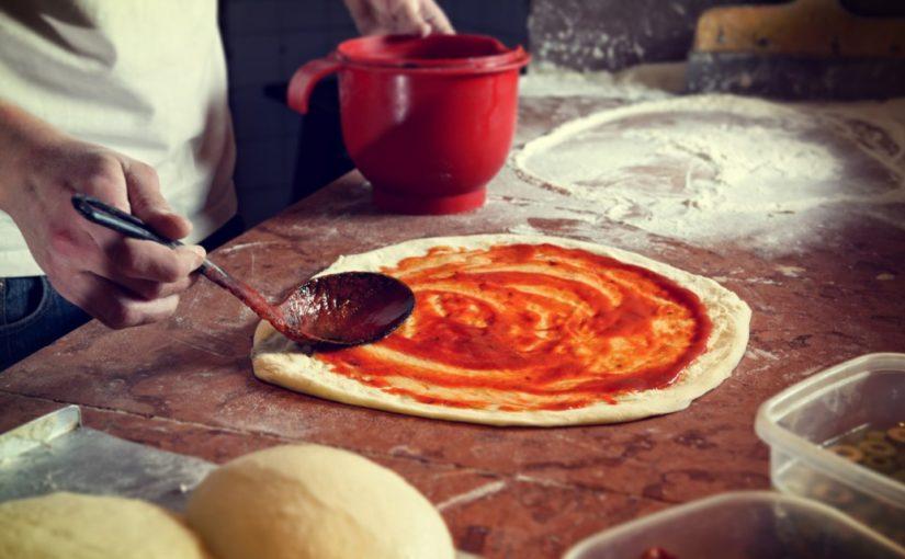 łatwe ciasto na pizze